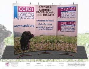 Wave Banner Stands for CCPDT