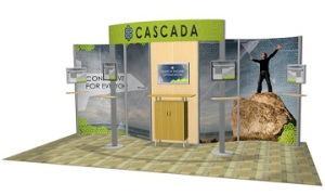 Eco-Systems™ Sustainable Exhibits Cascada