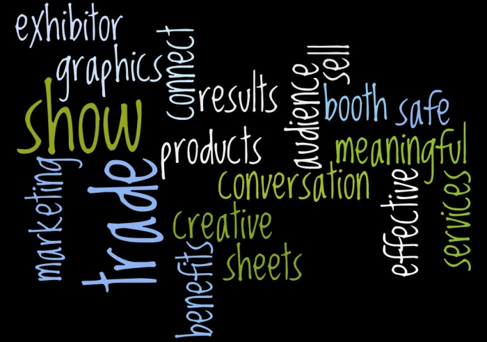 Use Words to Attract your Audience to your Trade Show Booth