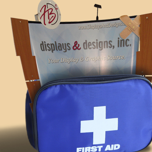 First Aid for your trade show display